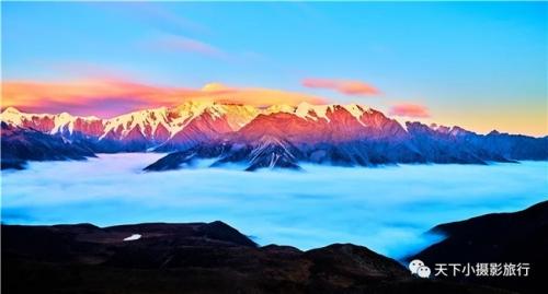 魅力川西——贡嘎雪山越野深度摄影团
